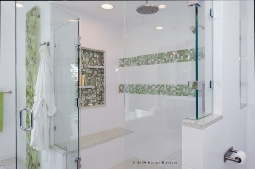 contemporary bathroom by Divine Kitchens LLC