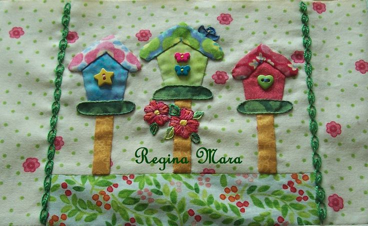 Tiny Town - block 7 | MY EMBROIDERIES AND PATCHWORK | Pinterest