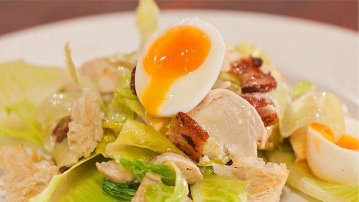 My Chicken Caesar Salad | recepis to try | Pinterest