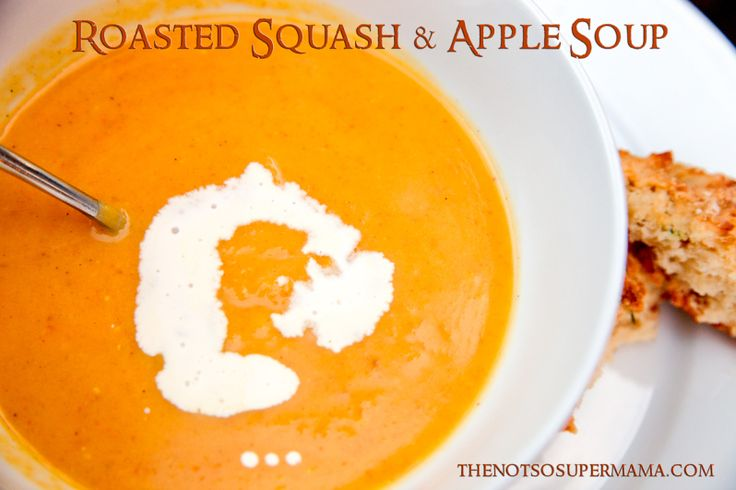 More like this: winter squash , apple soup and squashes .