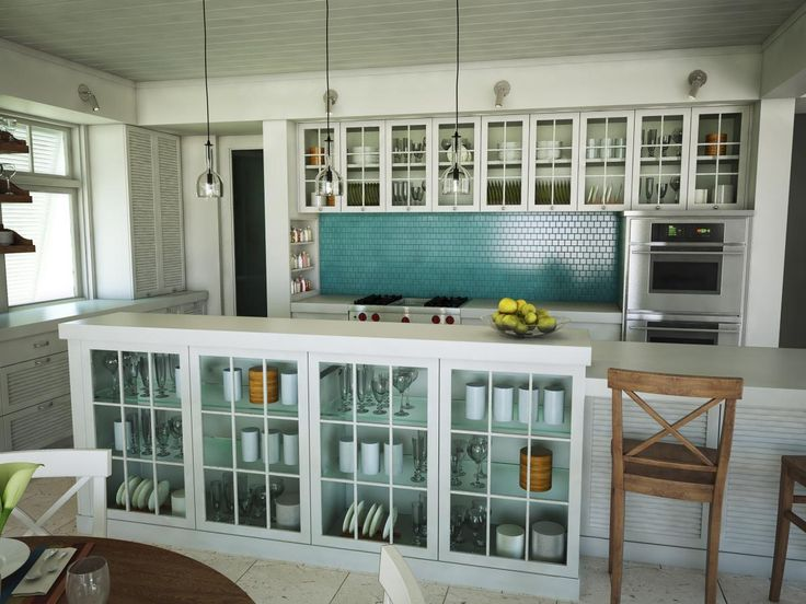 Teal tile for backsplash with white cabinets cultivate com