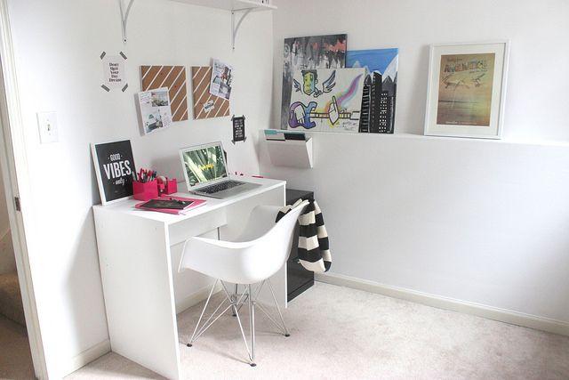 Poppin Pink Starter Desk Set | interiors | Pinterest
