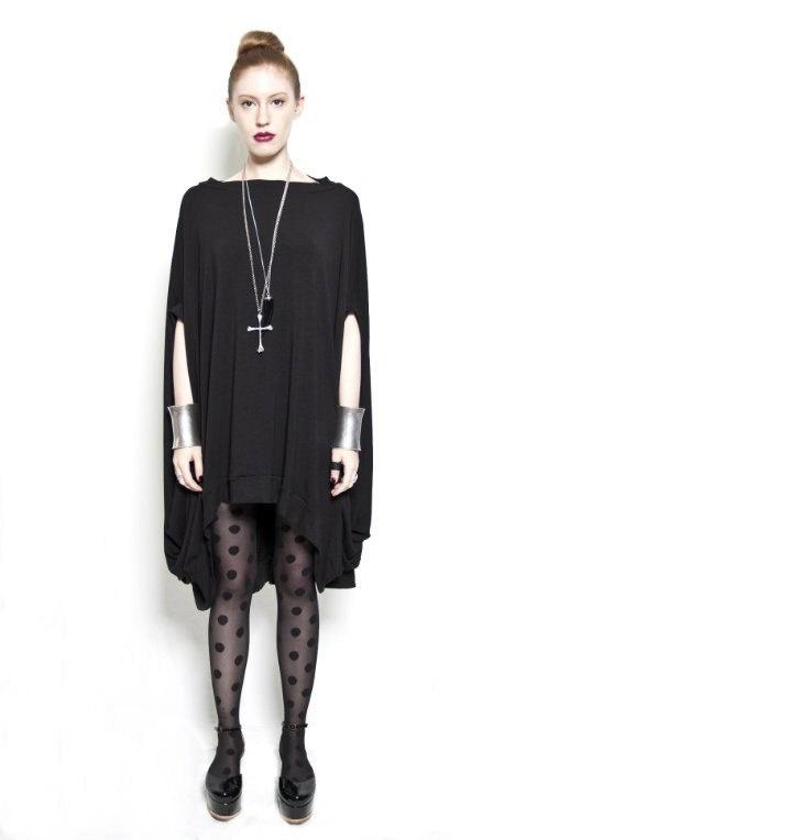 20 OFF NEW BABOOSHKA Discoid Dress. $73.60, via Etsy.