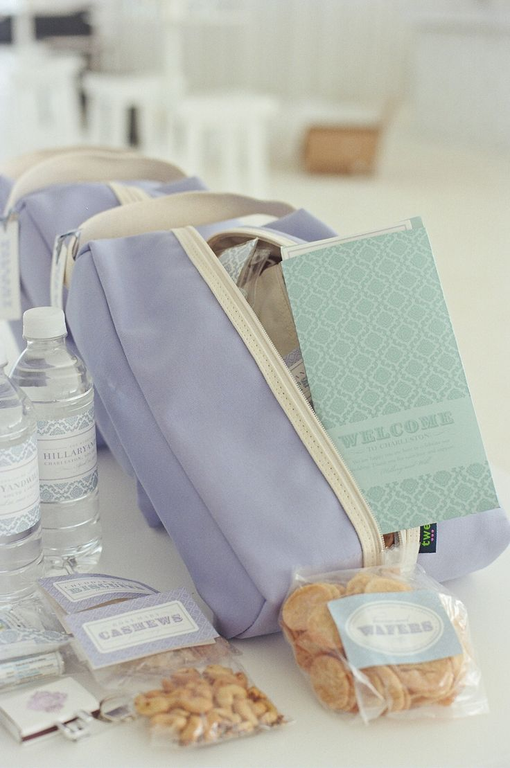 Wedding Welcome Bag Ideas : Pin by JoAnn Gregoli on Welcome Bags Pinterest