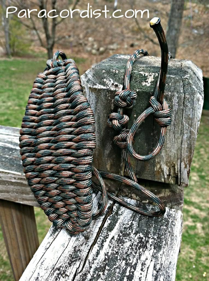 Paracord rock sling for Paracord rock sling