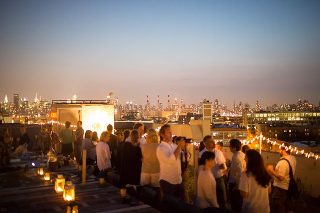 bon appetit rooftop party at brooklyn grange