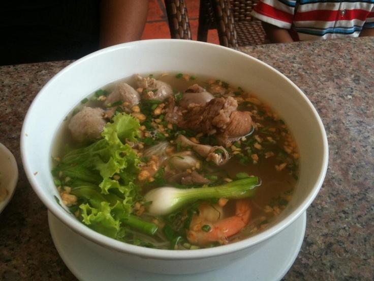 Phnom Penh Noodles Soup, yum!! | Foods | Pinterest