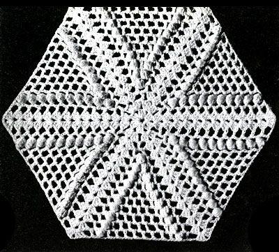 Free Crochet Pattern: Square Pinwheel Potholder