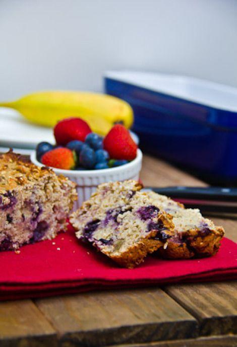 Banana Berry Nut Oatmeal Breakfast Bread   Healthy Mornings   Pintere ...