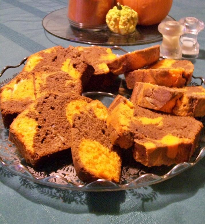 Marbled Chocolate Orange Pound Cake | AAA Sweets | Pinterest