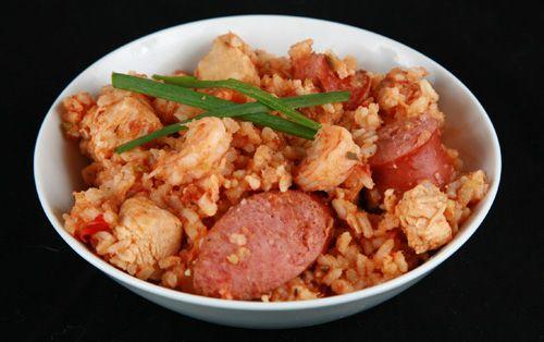 Chicken, Shrimp, & Sausage Jambalaya | Bitchin' in the Kitchen | Pint...