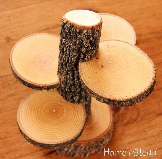 Поделки из кругляшей дерева 93