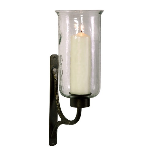 Iron Candle Holder Wall Sconce : Large 22