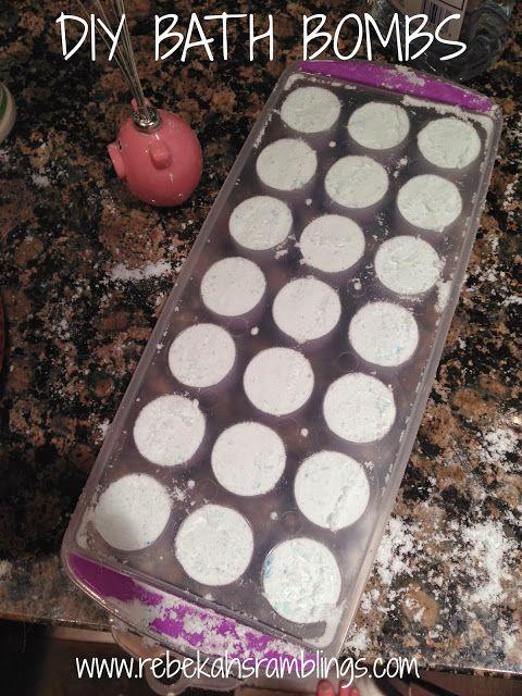 DIY Bath Bombs | DIY | Pinterest