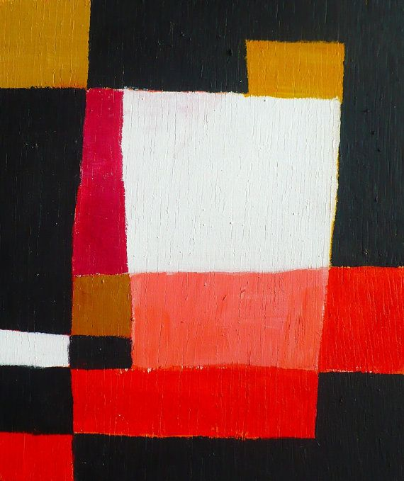 Abstract Painting Rumination 9   \\