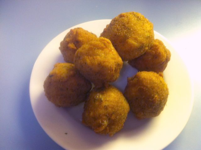 fresh from paul s kitchen deep fried macaroni amp cheese balls