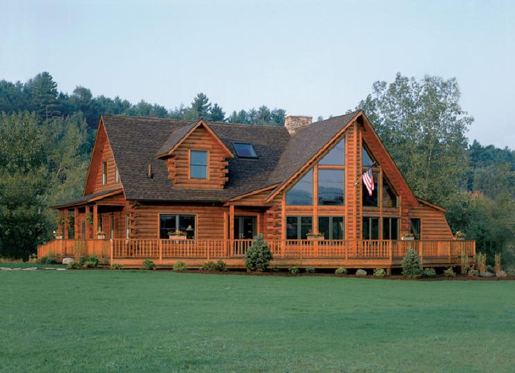 Lake George Model Our Dream Log Home Pinterest