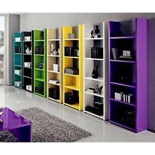 Soggiorno Libreria 4 Vani Color Box  Office  Pinterest