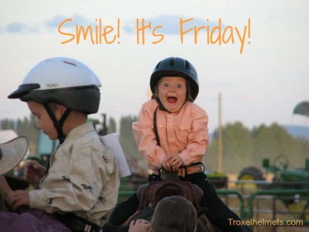 Smile! It's Friday! #horses