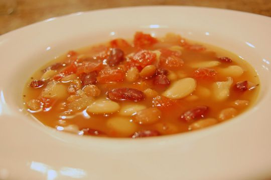 Bean and Bacon Soup - Ready in 10 Minutes