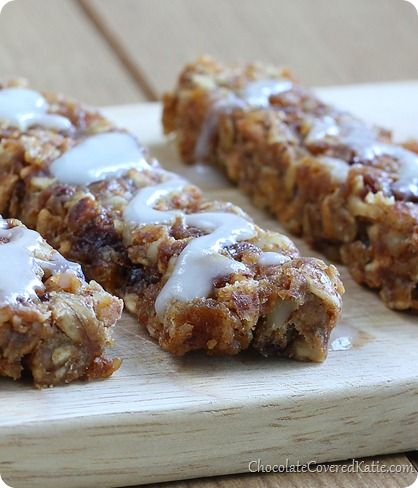 Chocolate Chip Cherry Granola Bars (GF) (applesauce, cashew or coconut ...