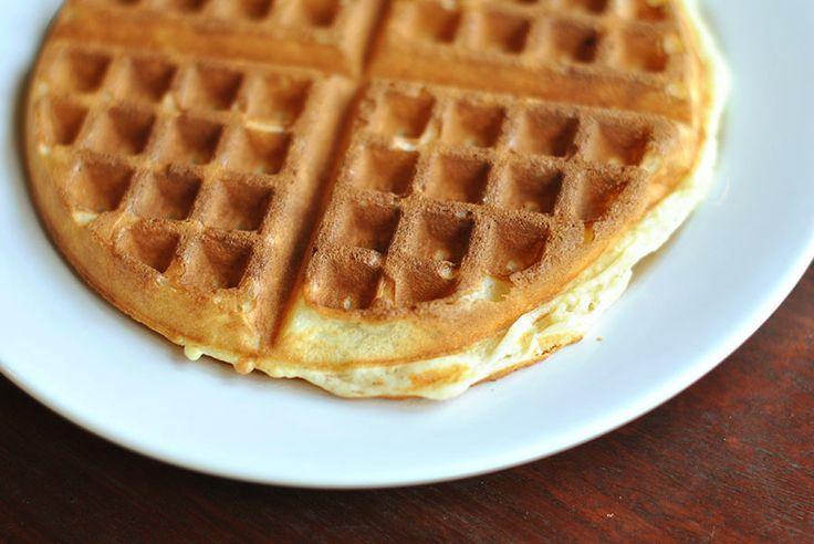 Nancy's Mom's Light & Crisp Waffles | Recipe