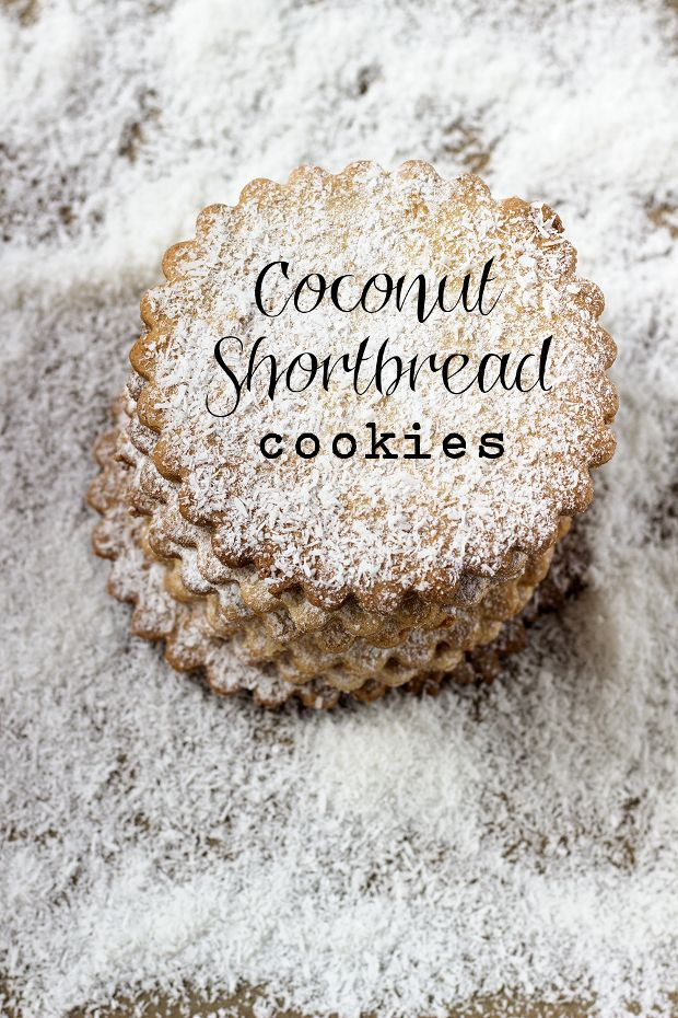 Coconut Shortbread - French Recipe - In English