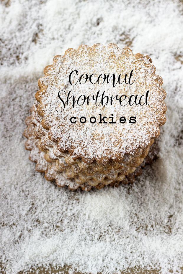Coconut Shortbread - French Recipe - In English