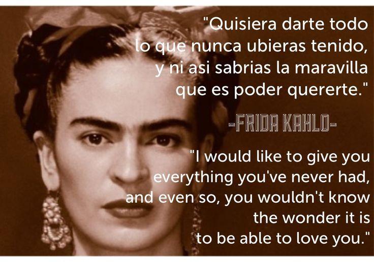 powerful frida kahlo quote just saying pinterest