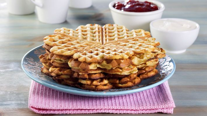 Norwegian waffles | Food | Pinterest
