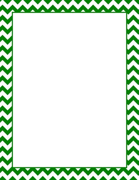 green chevron border clip art pictures to pin on pinterest