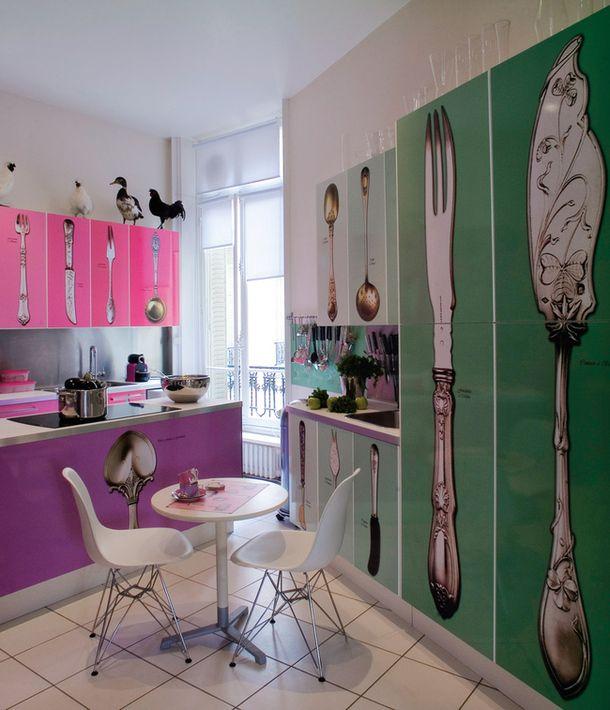 Буквенная квартира в Париже