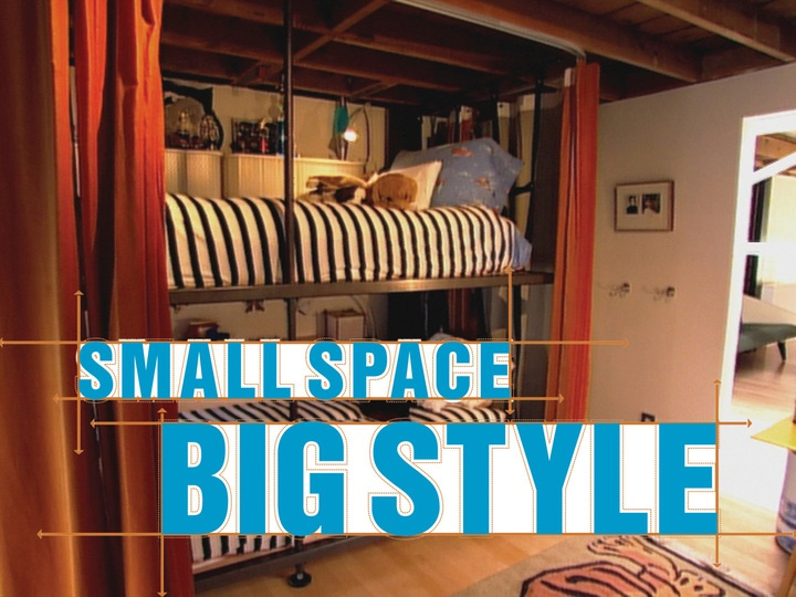 Small space big style tv shows yep guilty pinterest - Small space blog style ...