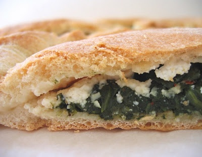 Spinach Calzones With Ricotta And Sun-Dried Tomatoes Recipe ...