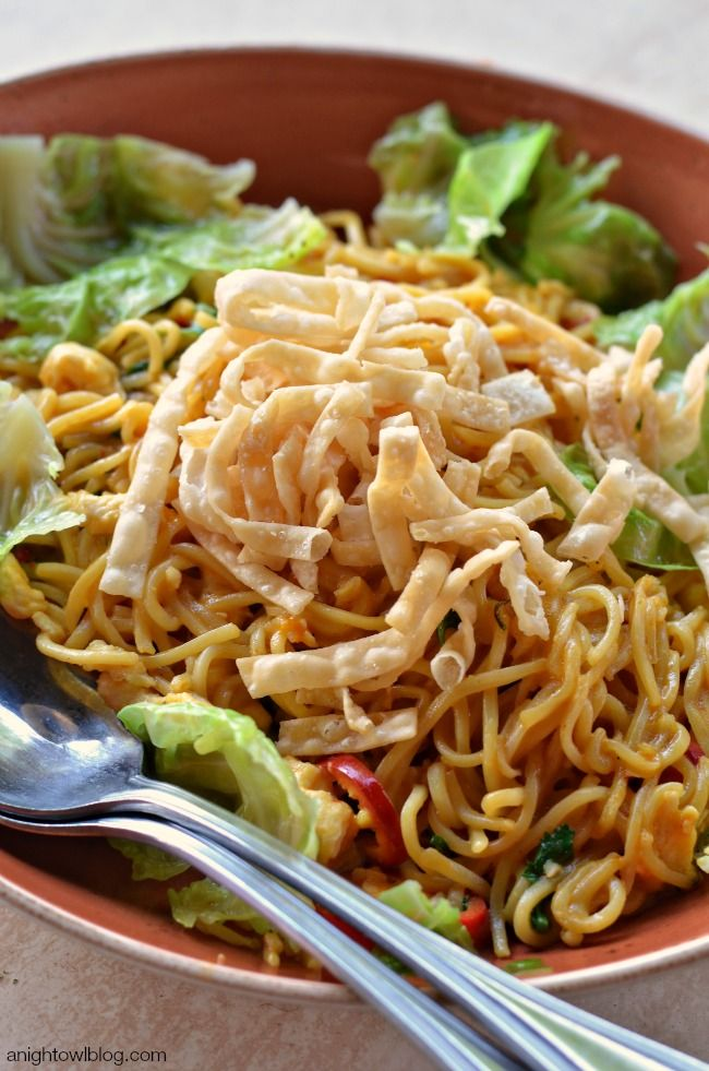 Chiang Mai Curry Noodles with Chicken | Asian Flavours | Pinterest