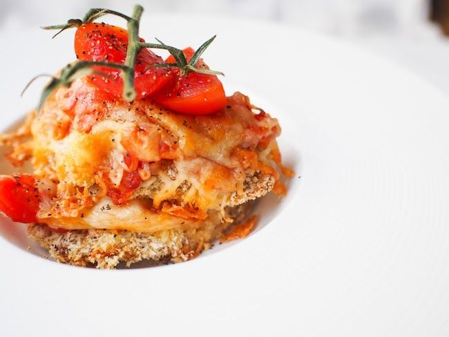 Low Fat Mexican Chicken Parmesan | Food Network | Pinterest