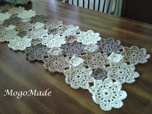 Crochet Table Runner : Crochet table runner Crocheting. Pinterest