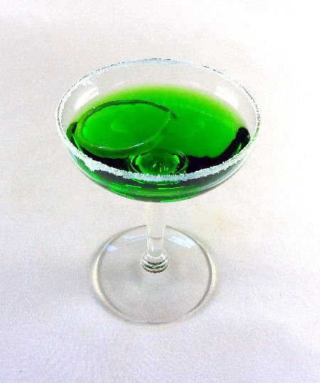 Green Apple Martini | WISH I HAD A COOK ! ! | Pinterest