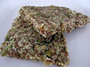 Raw Nut-bread with herbs!   Raw recipes   Pinterest