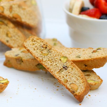 Honey Pistachio Biscotti | Indulge | Pinterest