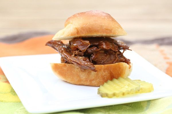 Barbecued Beef Sliders Recipes — Dishmaps