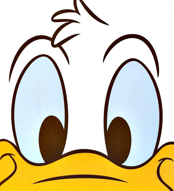 Daisy duck face drawing