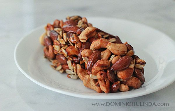 Homemade Nutty Bar. ingredients Cashew 1 cup Almond 1 cup Sunflower ...