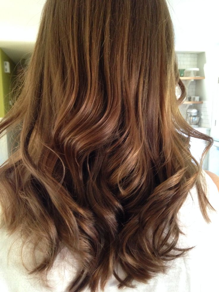 Warm brown hair color | •{HAIR COLOR}• | Pinterest