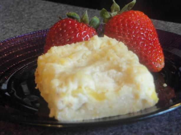 Pineapple & Ginger Cheesecake Bars. Photo by Muffin Goddess