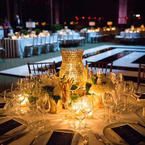 Mercury glass hurricane centerpieces wedding ideas for Glass wedding centerpieces