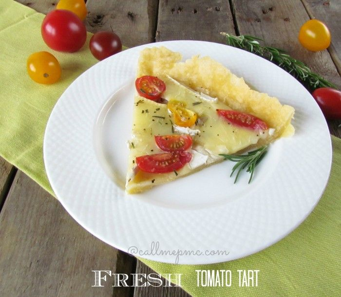 Favorite Tomato Cheese Tart | Recipe