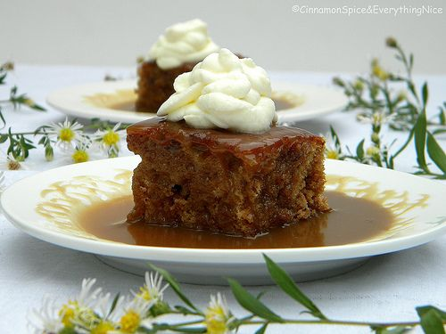 British Sticky Toffee Pudding | Recipe