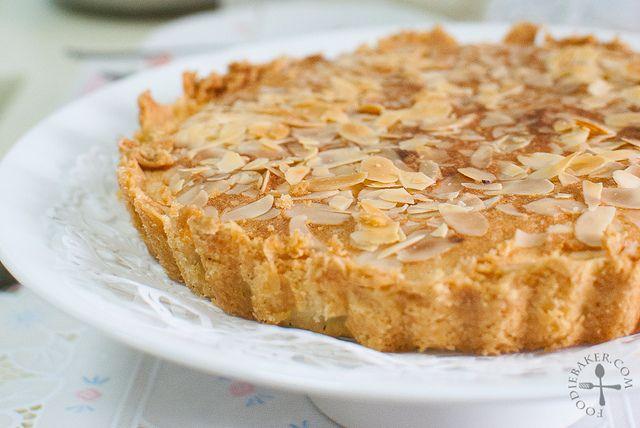 Italian Almond Tart Recipe — Dishmaps