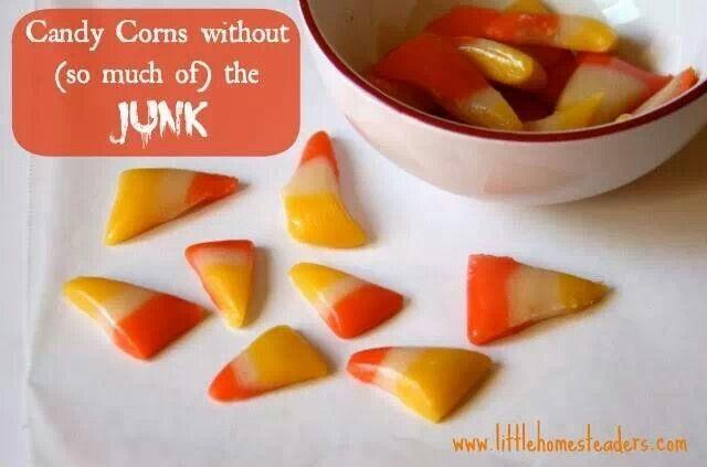 Homemade candy corn | Candy Making | Pinterest